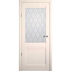 Межкомнатная дверь винил «Рим» (со стеклом)