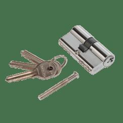 Личинка для замка PUERTO английский ключ/ключ 60мм