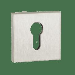 """Накладка дверная квадратная """"INET AL 03"""" на цилиндр PUERTO"""