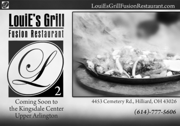 Louie's Grill Print Ad