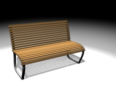 Park Bench Product Model
