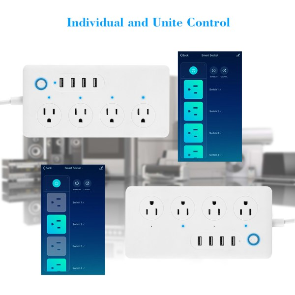 Smart Home Controlled Power Strip