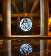 19 de Mayo 2013, Materia Luminosa en puente de Marbella.