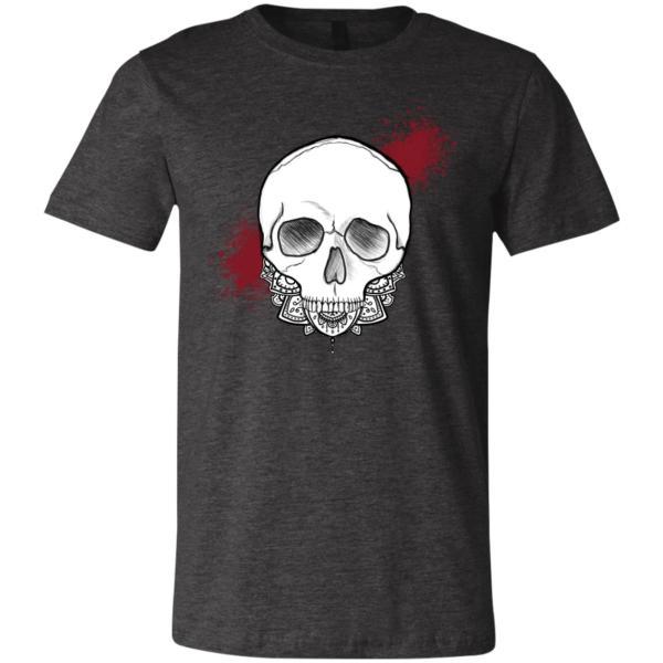 Skull -Dark Grey Heather