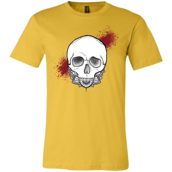 Exploding Skull - Maize Yellow