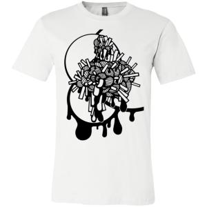 Unisex Abstract Brains T-Shirt