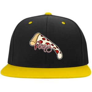 Pizza Poesy Snap Back Cap