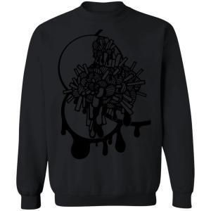 Brain Crewneck Pullover Sweatshirt