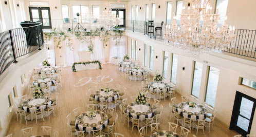 Grand Ballroom at D'Vine Grace Vineyard