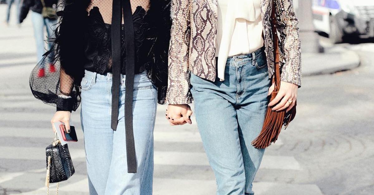 أفكار ارتداء بنطلون الجينز والبلوزة بالصور Savoir Flair