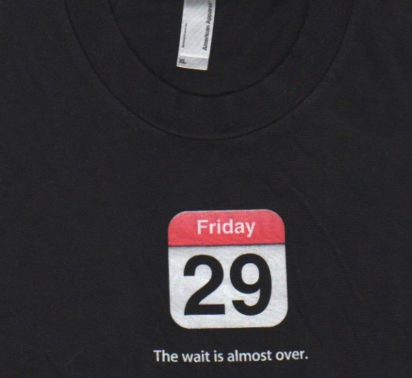 June 29 - the Wait is Almost Over - Shirt