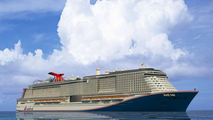 Riviera - News Content Hub - Carnival Cruise Line takes delivery of Mardi Gras