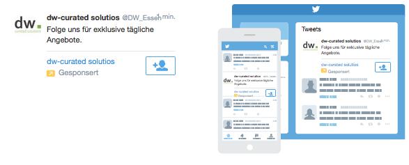 Twitter Ad: Follower gewinnen