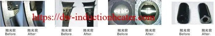magnetic deburring & polishing