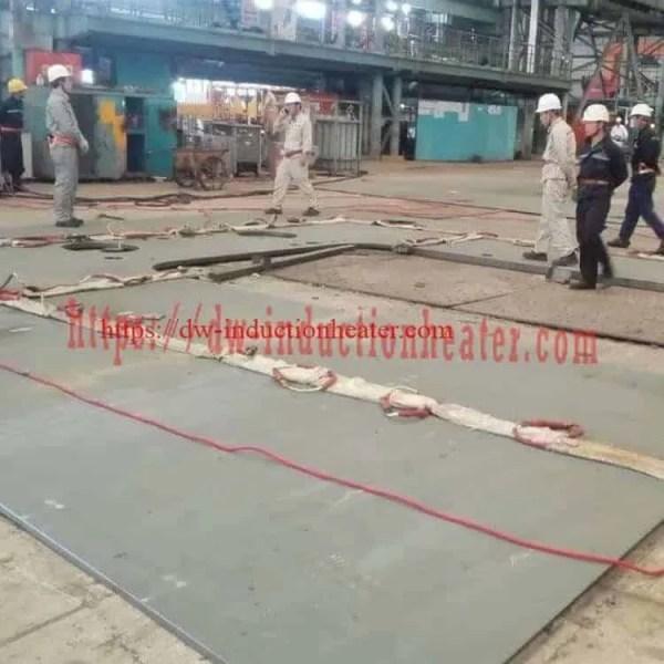 PWHT welding steel shipboard