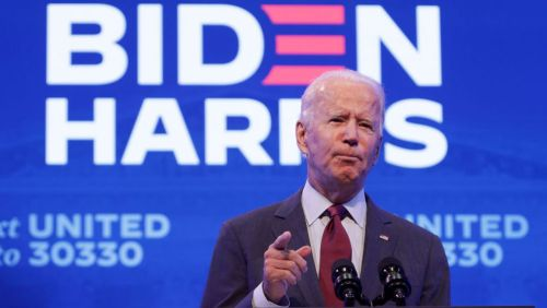 Biden Says Moving Forward With Barrett Nomination Before Election Day Is An 'Abuse Of Power'
