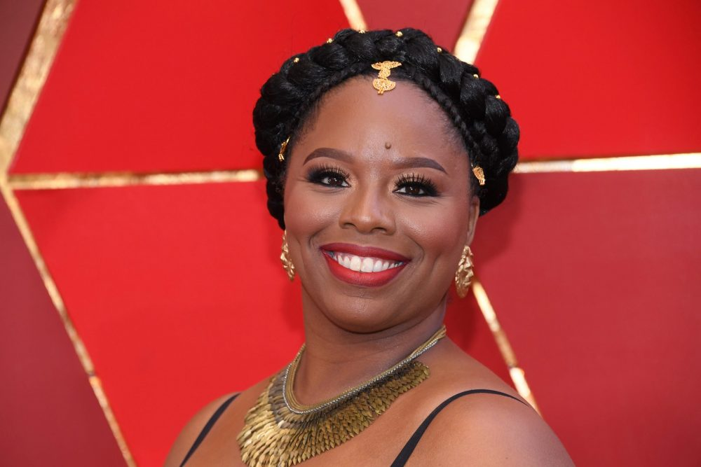 HOLLYWOOD, CA - MARCH 04: Co-founder of the Black Lives Matter movement Patrisse Cullors attends the 90th Annual Academy Awards at Hollywood & Highland Center on March 4, 2018 in Hollywood, California.