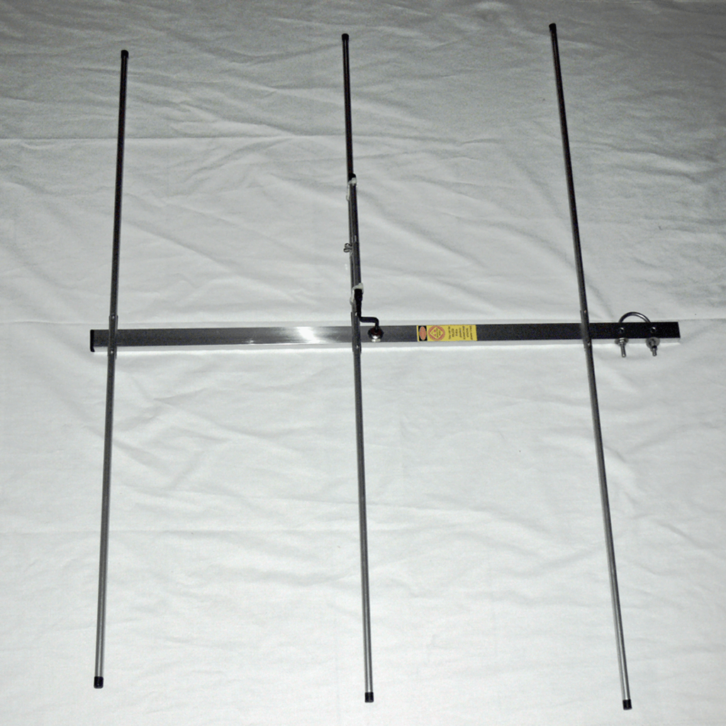 3 Elements VHF Yagi (2m Commercial) | DW1ZWS | Panda Antenna original  handcrafted Philippines