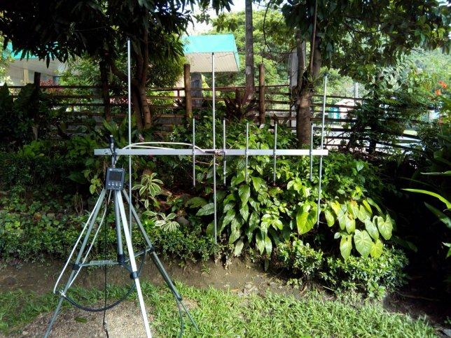 Dualband 3×5 VHF 2m / UHF 70cm Yagi