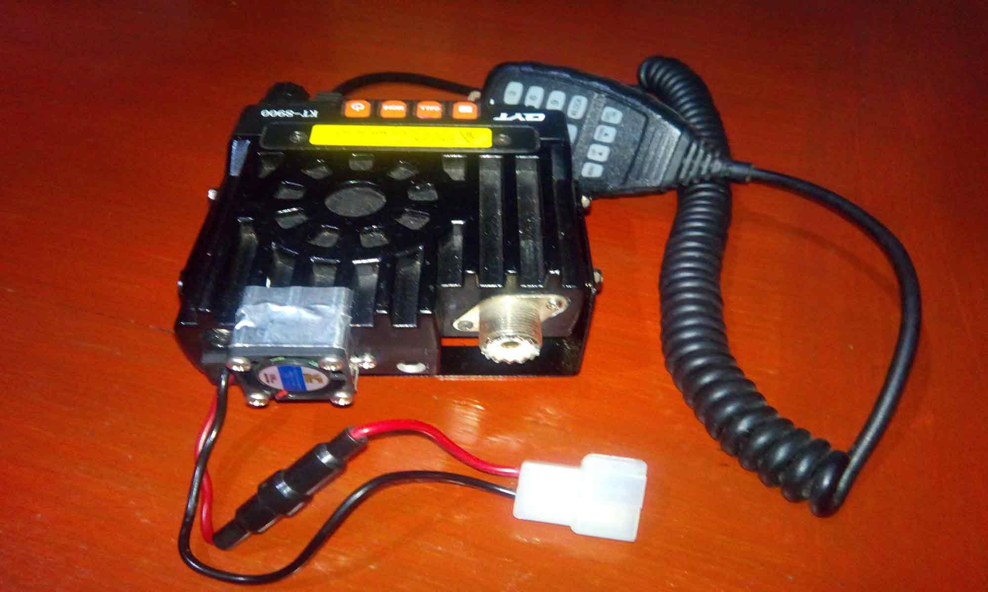 QYT KT8900 fan mod