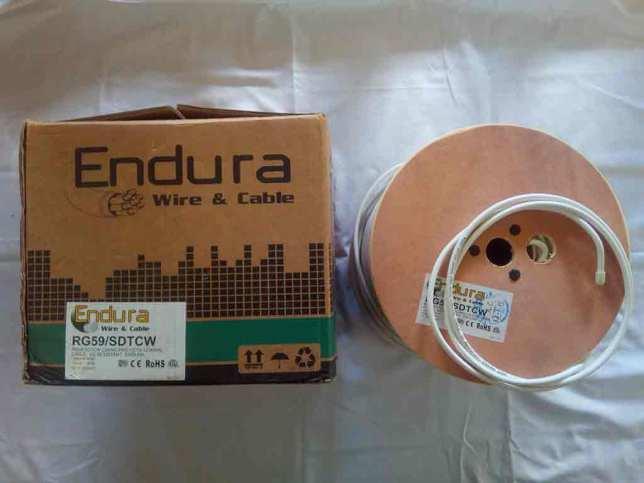 Endura 75 Ohm Coaxial Cable – RG59 – SDTCW
