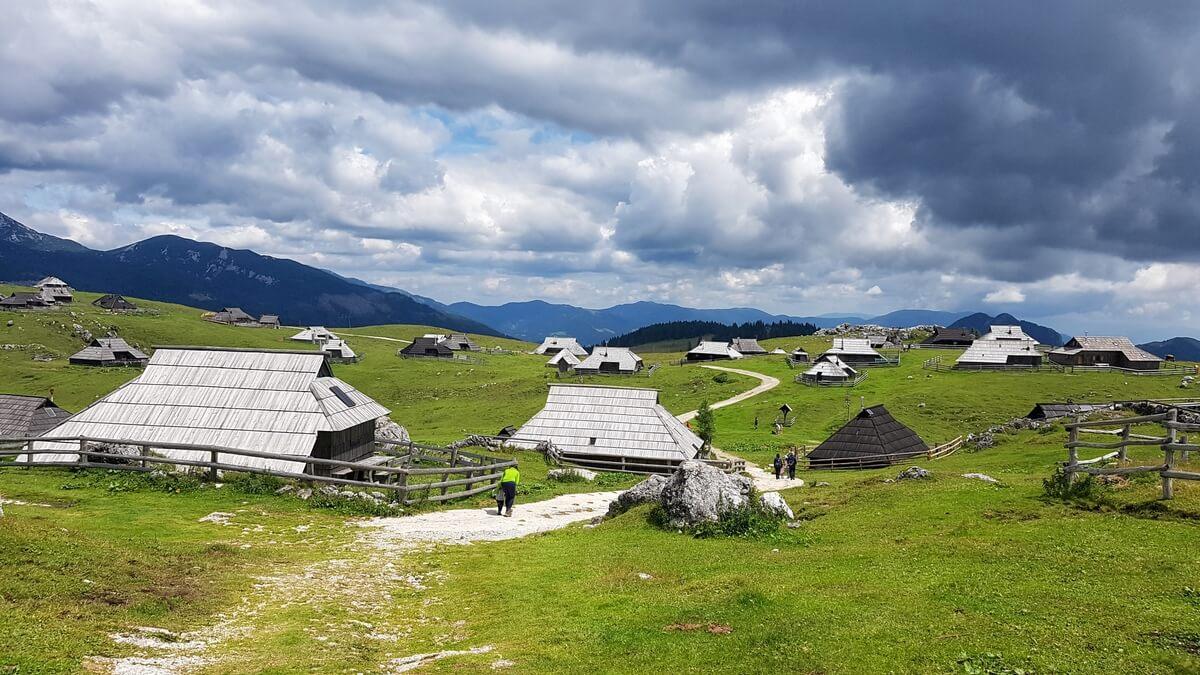 Velika Planina – pasterska osada na największym płaskowyżu Słowenii