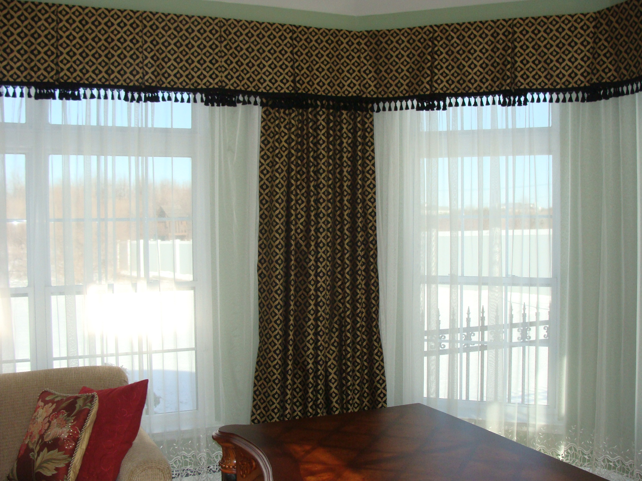Box Pleat Valance For A Great Look
