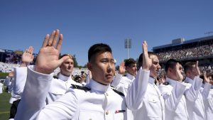 Naval Academy swearing-in