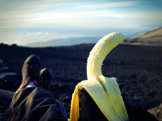 zasłużony banan!