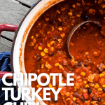 chipotle turkey chili recipe