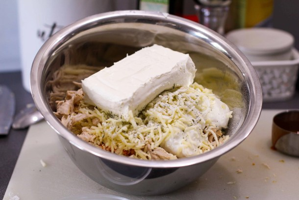 Greek Yogurt Buffalo Chicken Dip Weight Watchers - Cream Cheese
