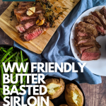 butter basted sirloin steak recipe