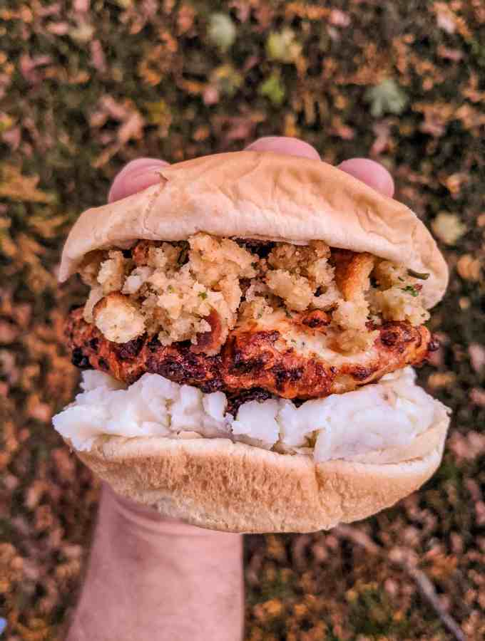Dwardcooks Thanksgiving Turkey Burger