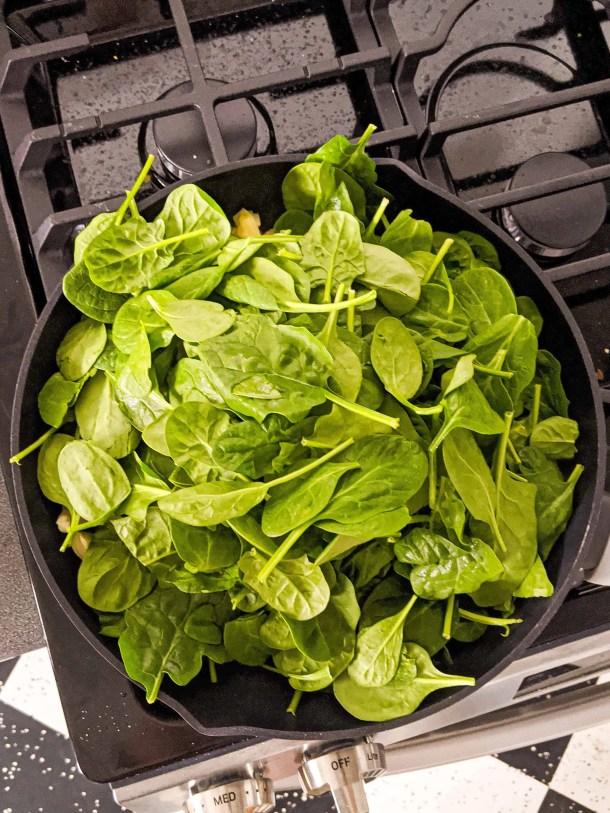 Dwardcooks Spinach Artichoke Dip - spinach