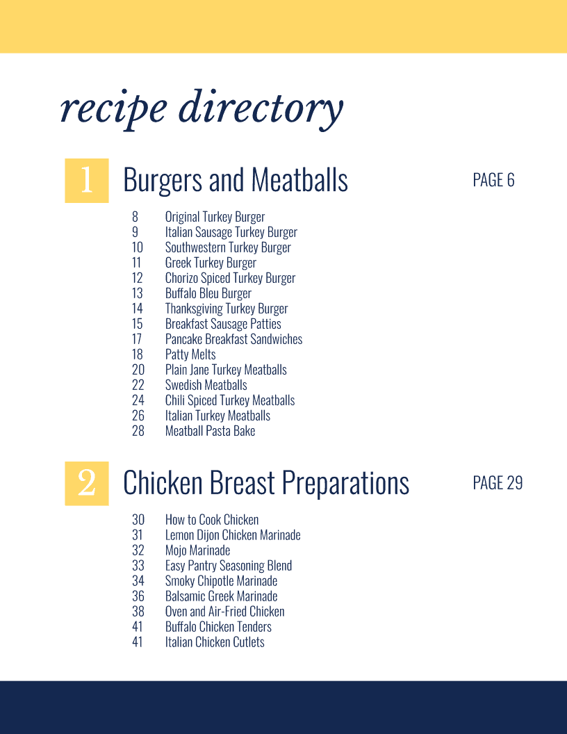 Dwardcooks eBoook Recipe Directory
