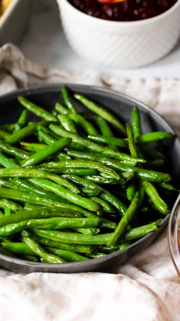 Simple Roasted Green Beans
