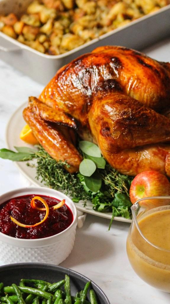 How to get crispy turkey skin