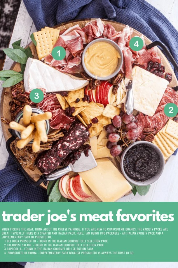 trader joes best meat for a charcuterie board