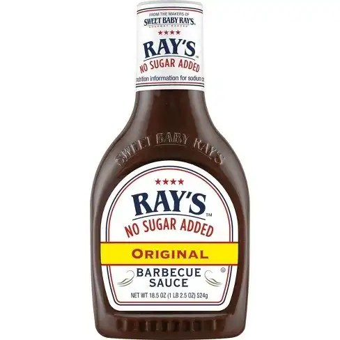 rays no sugar added bbq sauce weight watchers