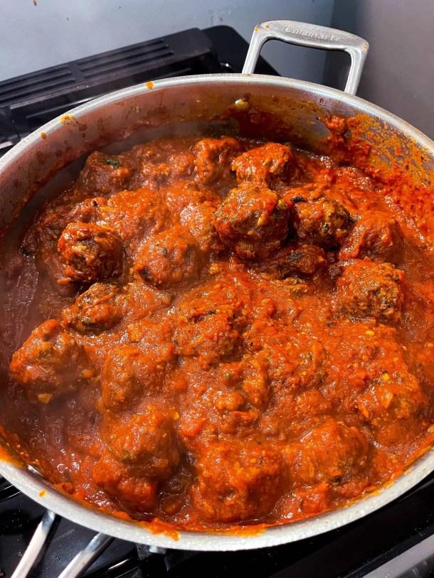 Healthy Beef Meatballs Weight Watchers ground beef recipe