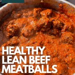 healthy lean beef meatballs weight watchers pinterest