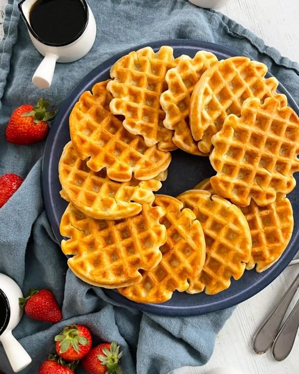 homemade greek yogurt waffles weight watchers