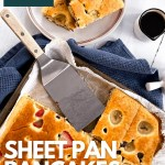 Sheet Pan Pancakes Pinterest