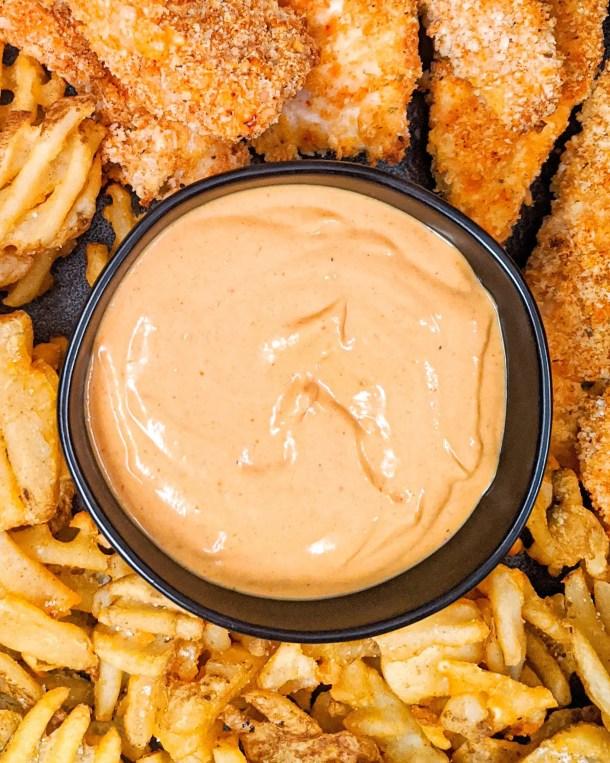 Healthy Copycat chick-fil-a sauce weight watchers