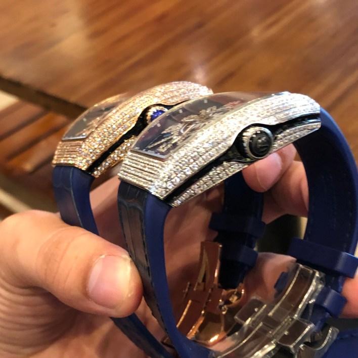 Đồng hồ Franck Muller nam đính đá