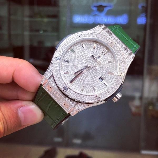Đồng hồ Hublot nam đính đá