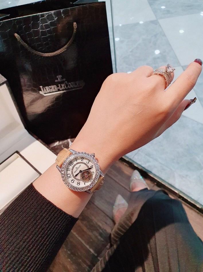 Đồng hồ Jaeger Lecoultre nữ dây da