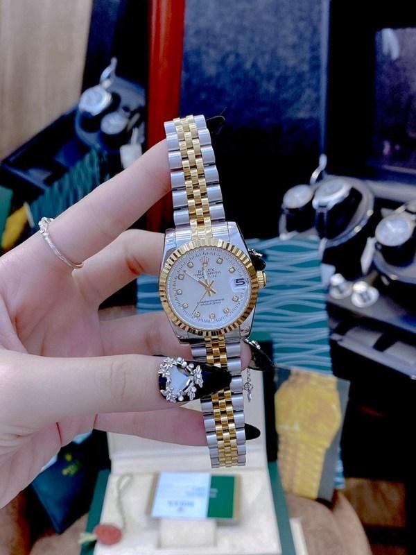 Đồng hồ Rolex nữ dây kim loại