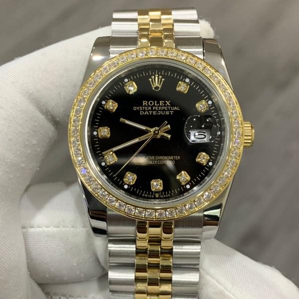 Đồng hồ Rolex nam đính đá