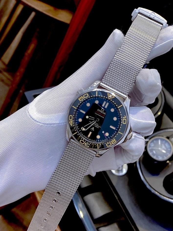 Đồng hồ Omega nam dây thép